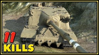 Tortoise - 11 Kills - 1 VS 6 - World of Tanks Gameplay