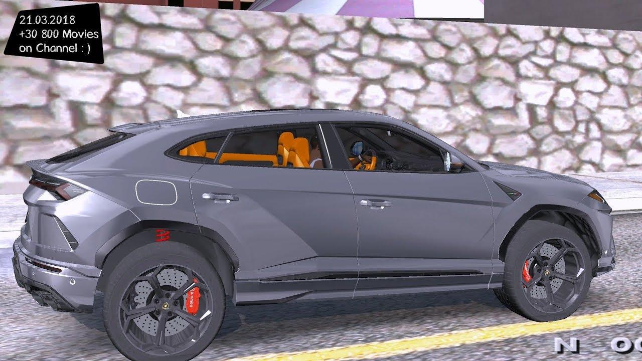 Lamborghini Urus 2018 Grand Theft Auto San Andreas GtaInside
