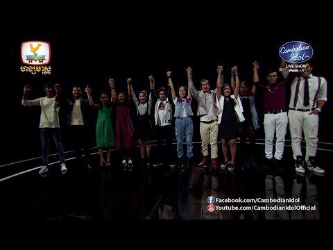 Cambodian Idol Season 2   Live Show Week 1   Intro