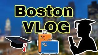Boston Travel Vlog : Graduation ( Season 1 Episode 2)