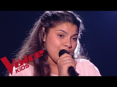Céline Dion - Vole  Antonia  The Voice Kids France 2019 blind auditions