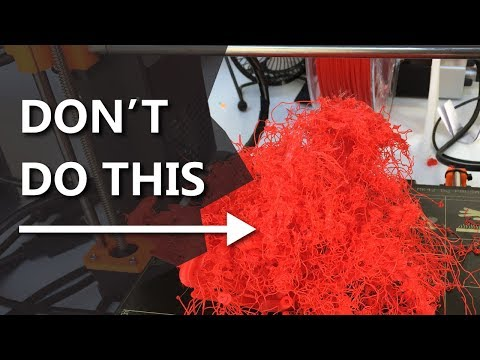 5 3D Printing Mistakes you WILL make and how to avoid them! 3D Printing 101