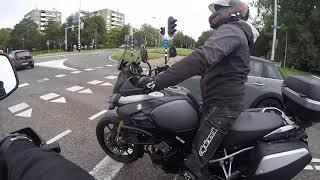 318bikelife #vlog 32  deel 1 test rit motoport uithoorn v-strom 1000