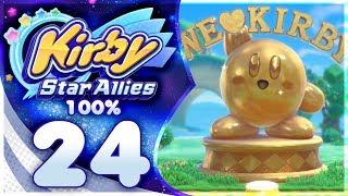 SECRET FINAL LEVELS! Kirby Star Allies - 100% Walkthrough | Part 24!