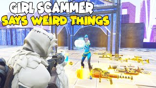 Girl Scammer Gets Scammed By NEW SCAM 😱 (Scammer Gets Scammed) Save The World