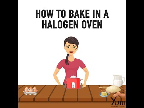 How To Bake In A Halogen Oven