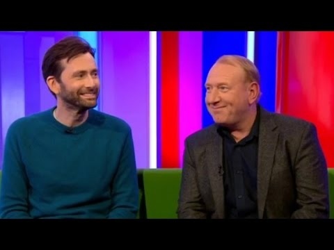 David Tennant interview on 2/3/17