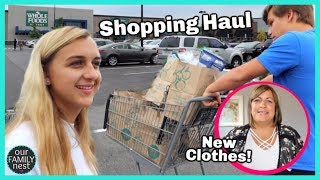 HUGE WHOLE FOODS SHOPPING HAUL & MOM GOT NEW CLOTHES!