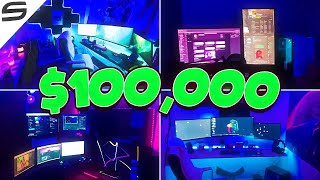 Team Synergy Gaming Setup Tours! ($100,000)