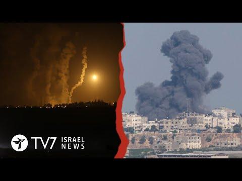 Gaza Rocket-fire Draws IAF Retaliation; E3 Demand Iran' Nuclear Compliance- TV7 Israel News 23.11.20