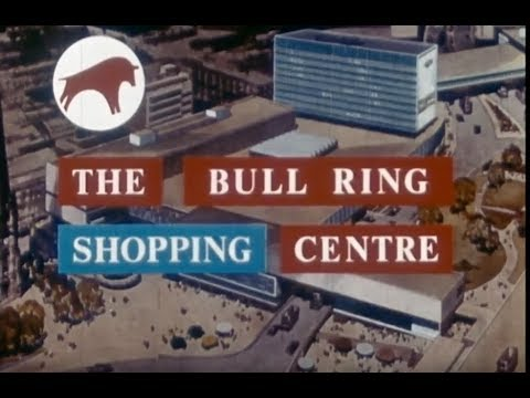 Bull Ring Shopping Centre (1965) | Birmingham | Promotional Film