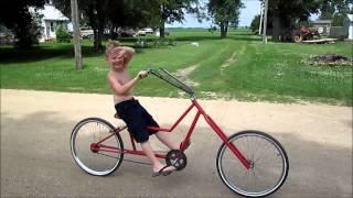 Neighborhood Kids on my Chopper Bicycles