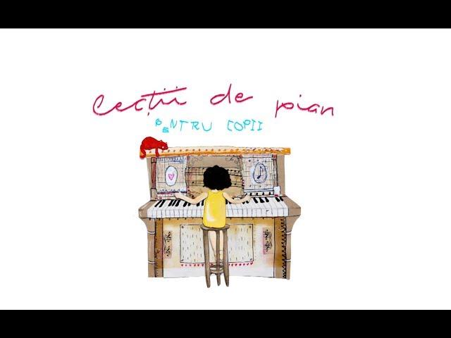 ÎNFLORESC GRĂDINILE - 12 Cântece la pian pentru copii - Lucian Opriș