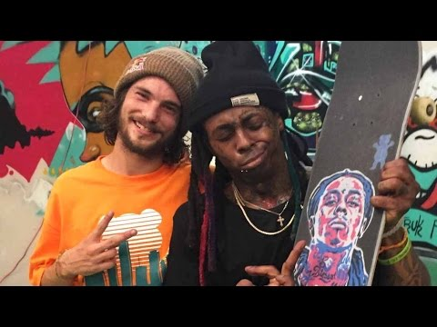 Lil Wayne and Torey Pudwill Session Weezy's Private Skatepark