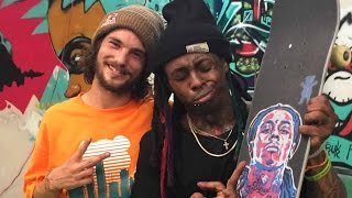 Lil Wayne and Torey Pudwill Session Weezy