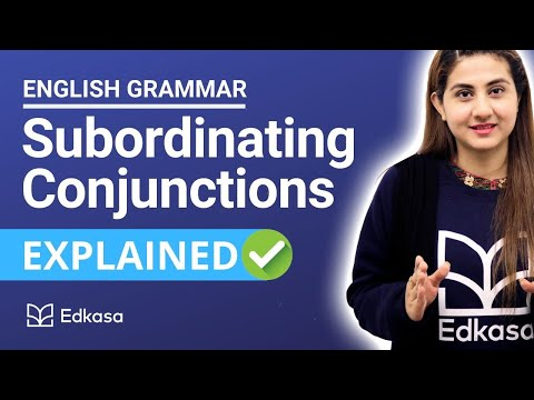 Subordinating Conjunctions | English Grammar