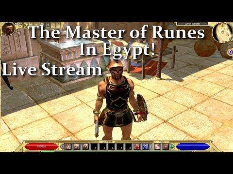 Live Stream  Titan Quest Ragnarok Rune Master in Egypt!