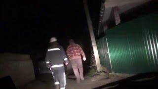 Пожар в Василькове .МЧС в течении часа искали где и что горит.