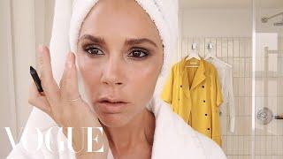 Victoria Beckham's Five-Minute Face | Beauty Secrets | Vogue thumbnail