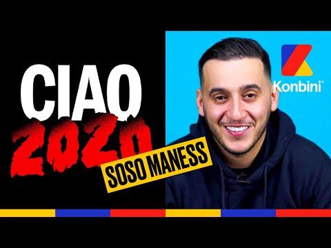 Youtube: Soso Maness:«Quand j'ai enfin percé, je me suis mangé une PANDÉMIE MONDIALE» l Ciao 2020 l Konbini