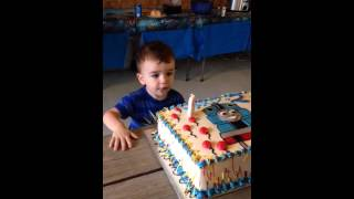 Kid Still Can't Blow Out Candle