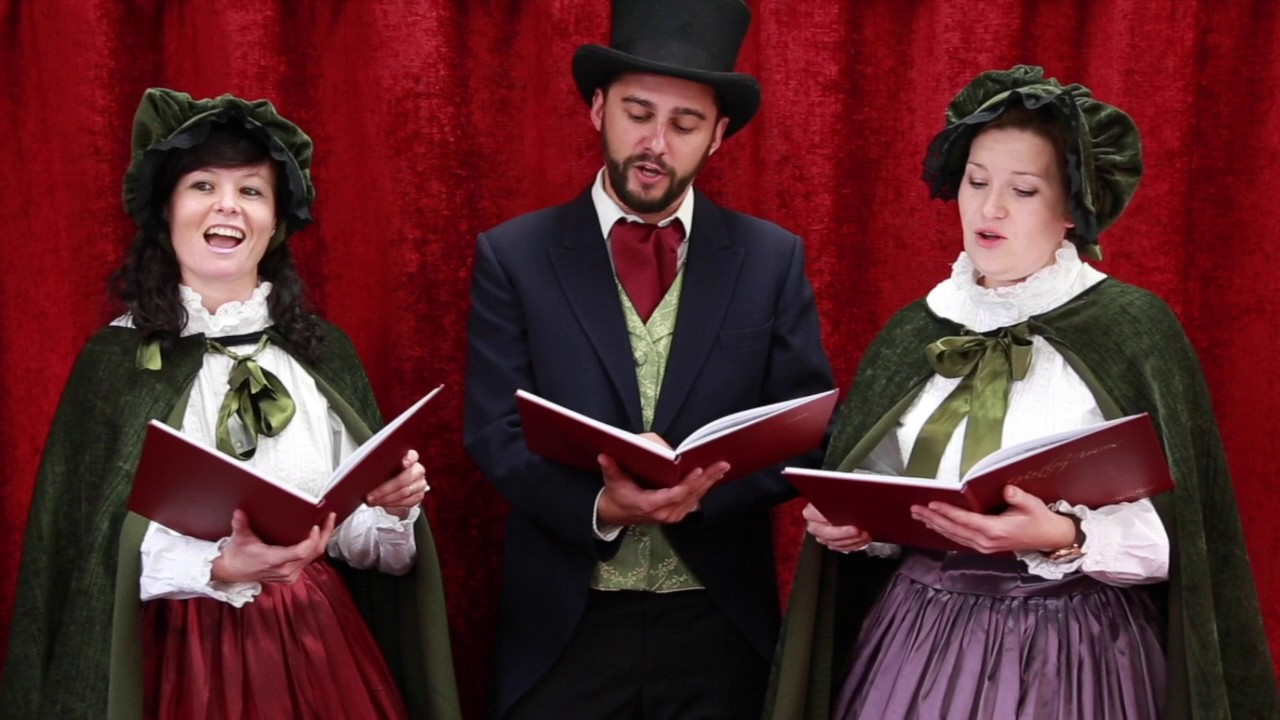 Victorian Carol Singing Trio Youtube
