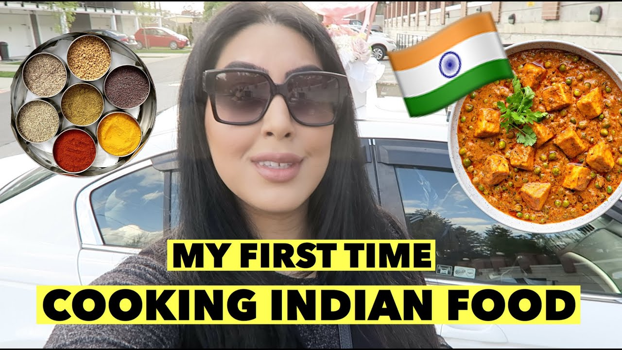 COOKING INDIAN FOOD FOR MY HUSBAND (FIRST TIME)