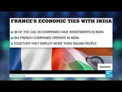 Indian PM Modi arrives in France eager to boost trade