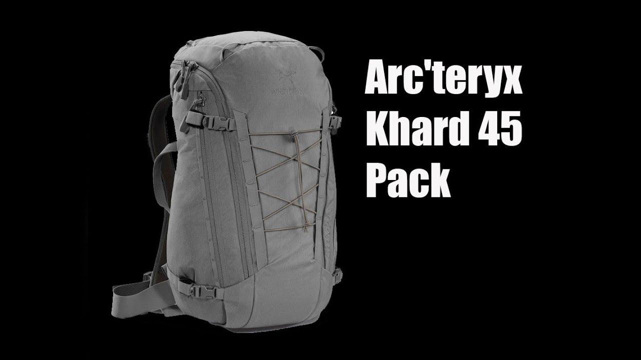 e3e2e04d7b Arc'teryx Khard 45 Pack - Preview - The Outdoor Gear Review - YouTube