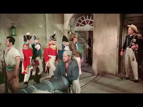 "Yul brynner ""the buccaneer"" 1958."