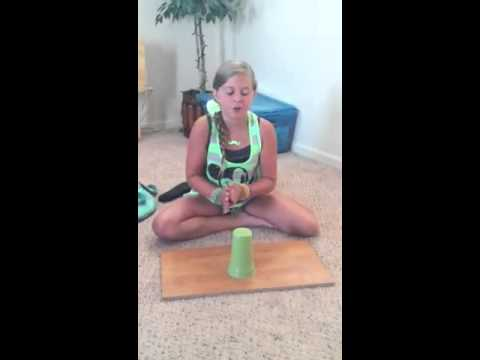 Leigha Riggs, Cup song
