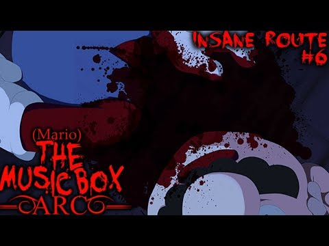 Mario The Music Box - ARC - DON'T LOSE YOUR HEAD, MARIO! | Insane Route - Part 6 (MARIO HORROR GAME)