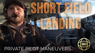 How to fly in 360 & VR: Short Field Landing