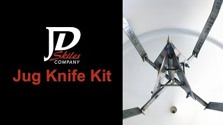 Jug Knife Kit For Poly Inductor Tanks