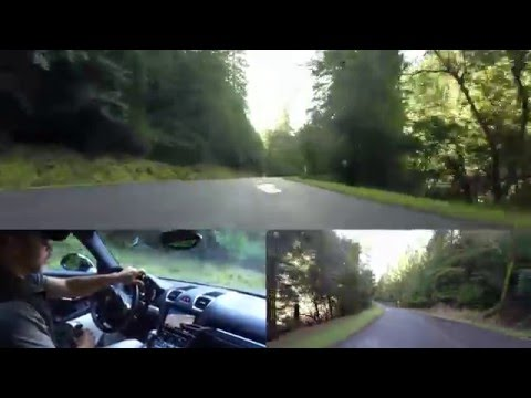 2014 Porsche Cayman on Northern California backroads, part 1