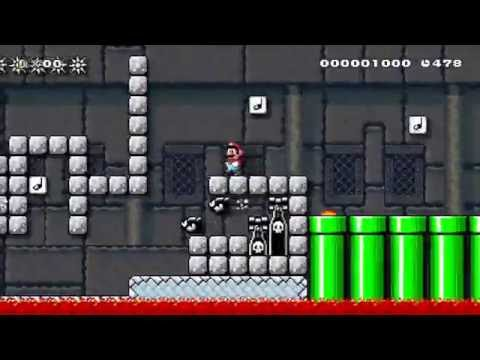 Super Mario Maker - Playing 1YMM levels with Carlos and Gordy