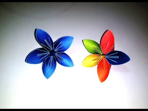 How to make a Kusudama Paper Flower   Origami Kusudama Flower