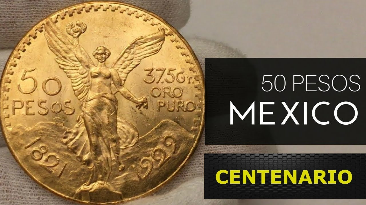 Oro Puro Moneda De 50 Pesos Mexicana