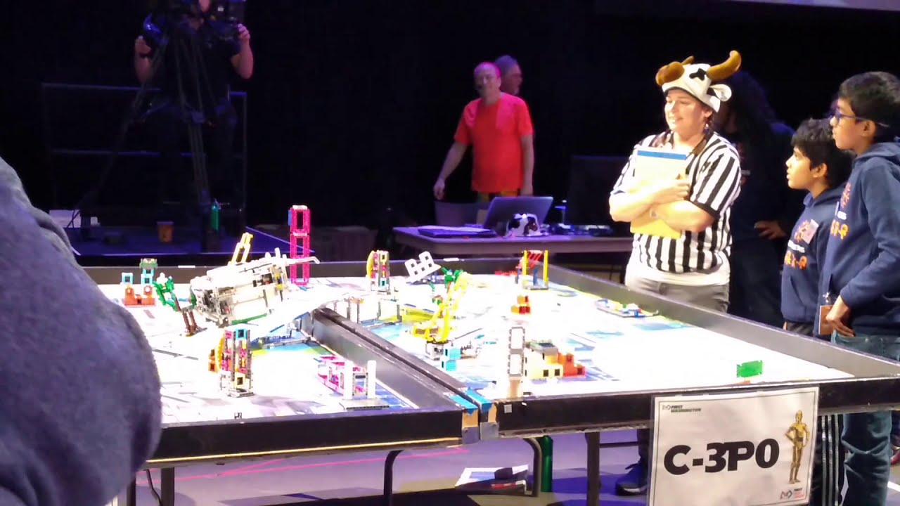 FLL CITY SHAPER _ SEMI FINALS _ ROBOT PERFORMANCE
