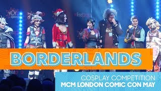 Borderlands Cosplay Competition   MCM London Comic Con