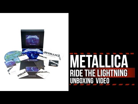 Download Mp3 lagu Metallica 'Ride the Lightning' Deluxe Box Set: Unboxing With Narration