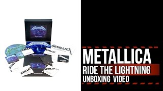 Metallica 'Ride the Lightning' Deluxe Box Set: Unboxing With Narration