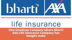 One Smallcap Company where Bharti AXA Life Insurance Company has bought stake