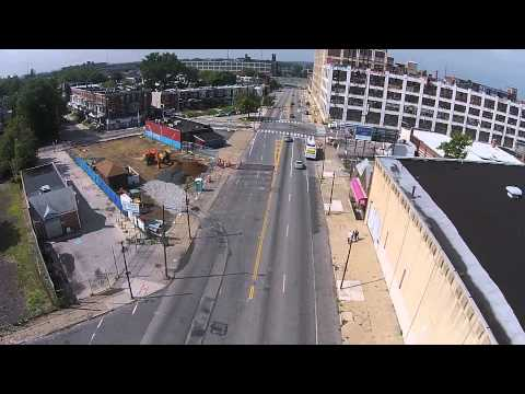 DJI Phantom 2 vision in Hunting Park (Philly)