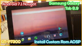 Samsung Galaxy Tab 8.9 Custom …
