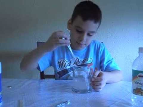Science Fair Project Cleaning Pennies Youtube