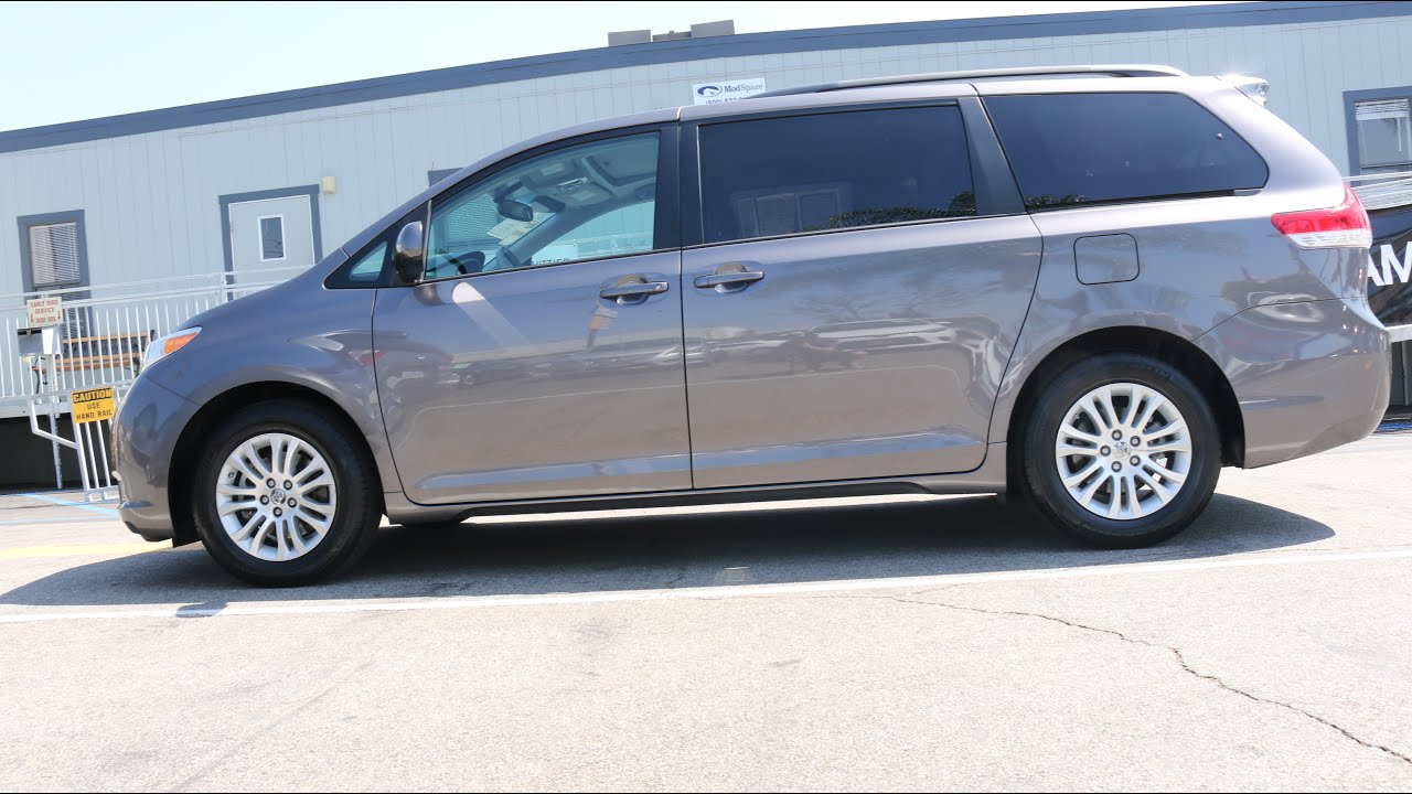 Certified Preowned 2013 Gray Toyota Sienna XLE Used Minivan Toyota