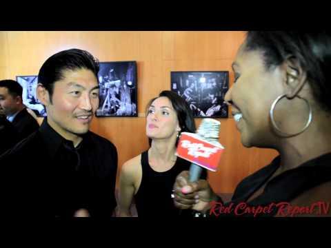 Brian Tee & Mirelly Taylor at the 2013 LA Asian Pacific Film Festival @Brian_Tee @MirellyTaylor