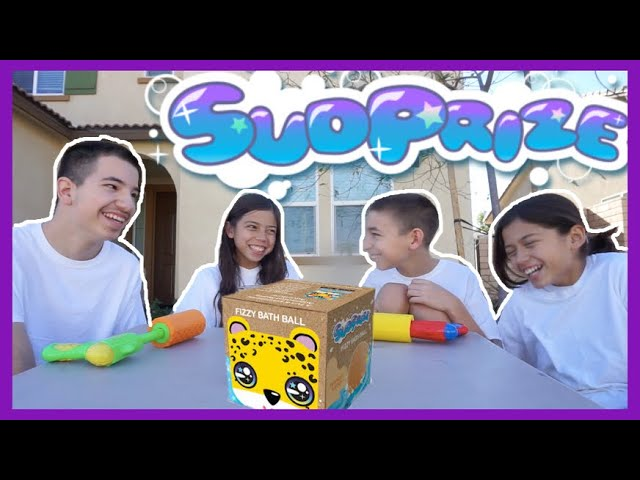 Sudprize Fizzy Balls WATER FUN