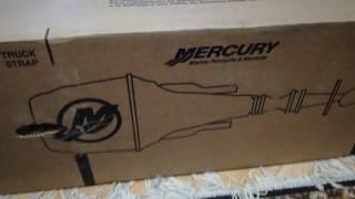 Mercury 9.9 m ,Розпакування нового човнового мотора Меркурі 9.9 м